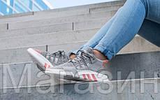"""Женские кроссовки adidas Equipment Bask ADV """"Grey Two / Ftwr White"""" AC7351 Адидас серые, фото 3"""