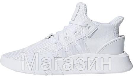 "Женские кроссовки adidas EQT Basketball Adv ""Triple White"" DA9534 Адидас белые, фото 2"