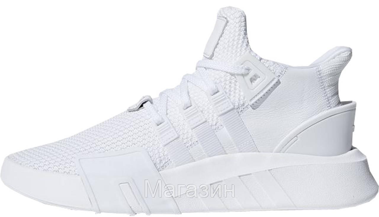 "Женские кроссовки adidas EQT Basketball Adv ""Triple White"" DA9534 Адидас белые"