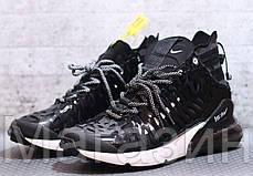 Мужские кроссовки Nike Air Max 270 ISPA Black/White высокие Найк Аир Макс 270 черные, фото 2