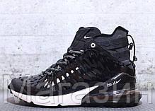 Мужские кроссовки Nike Air Max 270 ISPA Black/White высокие Найк Аир Макс 270 черные 41 43 размер, фото 2