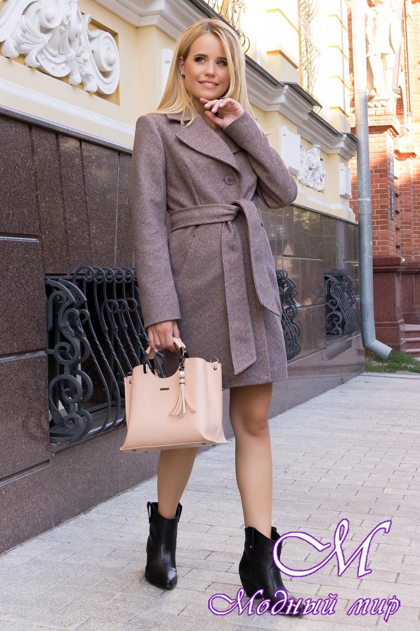 Стильне демісезонне пальто жіноче (р. S, M, L) арт. Каміла 7901 - 43854
