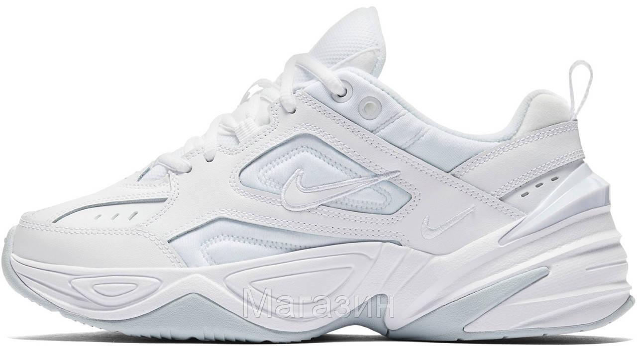 Мужские кроссовки Nike M2K Tekno White Найк Текно белые