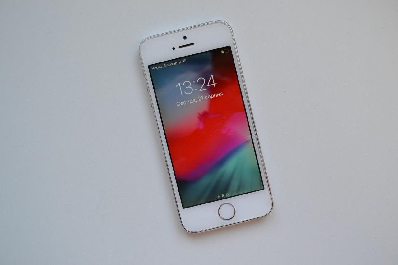 Apple Iphone 5s 32Gb Silver Neverlock Оригинал!