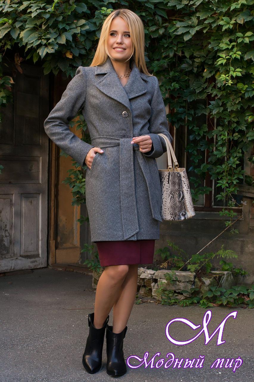 Стильное осеннее пальто женское (р. S, M, L) арт. Камила 7901 - 43855