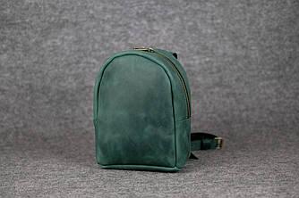Рюкзак Колибри Винтажная кожа цвет Зеленый
