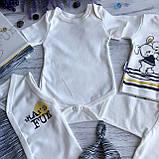 Крестильный костюм,  набор на выписку для мальчика Miniworld 1. Размер 62 см, фото 4