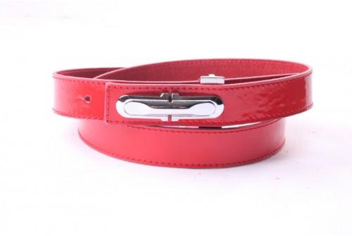 Ремень женский кожаный (Красный) Andi