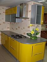 Кухня покраска глянец. Кухня под заказ