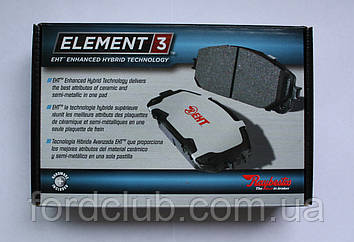 Задние колодки Ford Edge USA Raybestos Element 3 (для всех комплектаций)