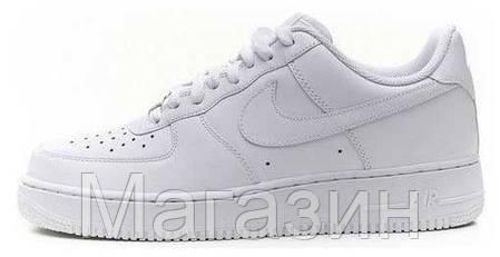 Женские кроссовки Nike Air Force White Найк Аир Форс белые, фото 2