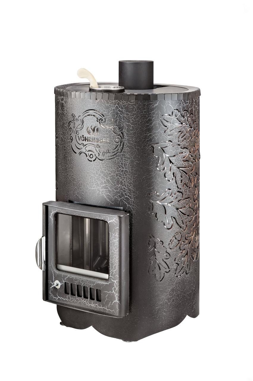 Дровяная печь для бани Ферингер ПФ Уют 25 Стандарт Антик