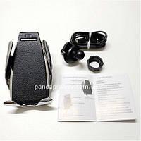 Автомобильный держатель для телефона с функцией беспроводной зарядки Penguin Smart Sensor S5