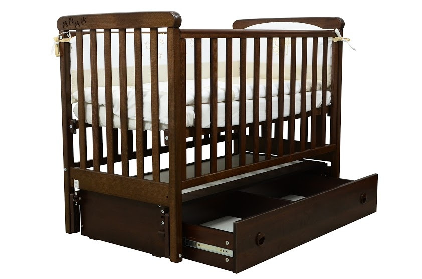 Кроватка Veres Соня ЛД12 Орех