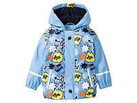 Демисезонная куртка-дождевик на флисе Lupilu 74\80,98\104