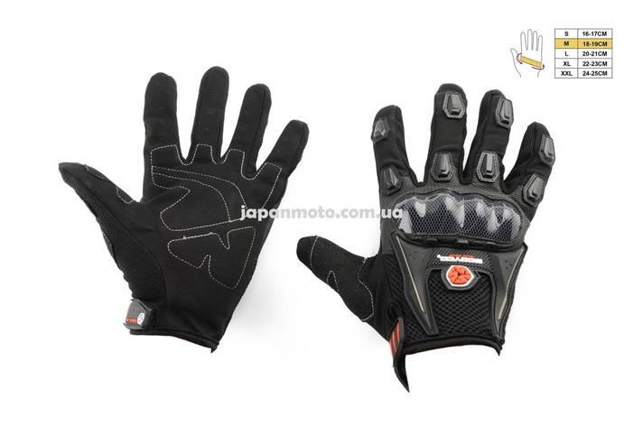Рукавиці (Перчатки) SCOYCO (size:M, чорні, текстиль), фото 2