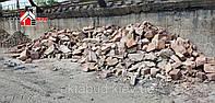 Камень бутовый кварцытный 200х600 (бут кварцытный 200-600) / Бутовий камінь кварцитний 200х600