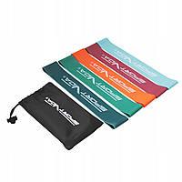 Резинка для фитнеса и спорта (лента-эспандер) SportVida Mini Power Band 5 шт 0-25 кг SV-HK0206
