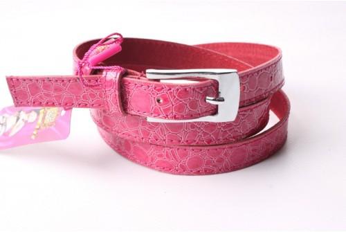 Ремень женский кожаный (Розовый) Andi