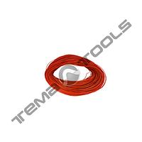 Провод ПГВА автомобильный 1x0,75 гибкий 50 м красный