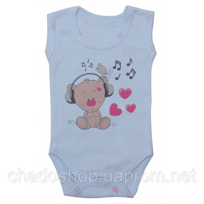 Боди для новорожденных Мишка