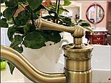 Смеситель для чаши раковины  3-122, фото 5