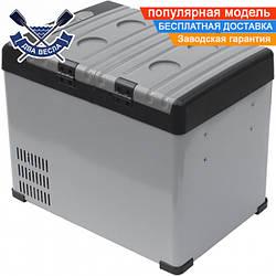 Портативная компрессорная морозильная камера холодильник Dowell BCD-32 12V, 28 л, 57х35х44,8 см, 15 кг,-15/+10