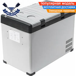 Портативная компрессорная морозильная камера холодильник Dowell BCD-42 12V 42 л, 67х36х42 см, 17 кг, -15/+10