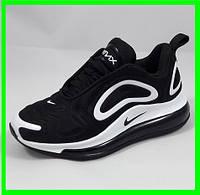 Кроссовки Nike Air Max 720 Чёрные с Белым Найк (размеры: 36,37) Видео Обзор