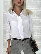 Женская блузка с воротником, фото 2