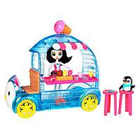 Набор Enchantimals Фургончик с мороженым  Прина Пингвина