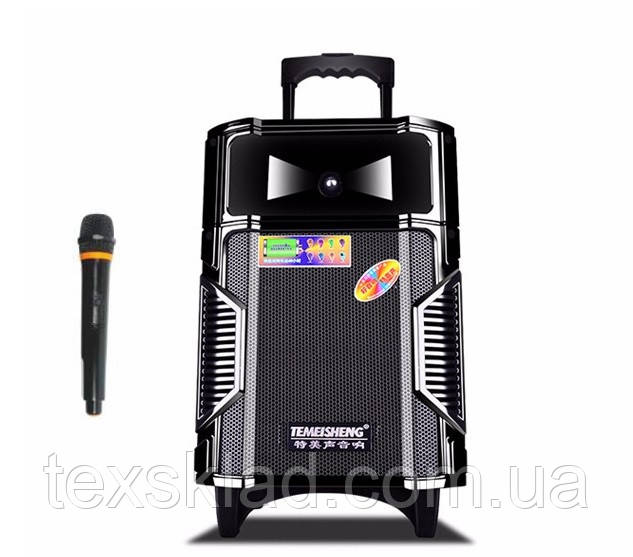 Акустика с микрофоном и акумулятором A8-12 (usb/bluetooth)