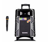 Акустика с микрофоном и акумулятором A8-12 (usb/bluetooth), фото 1