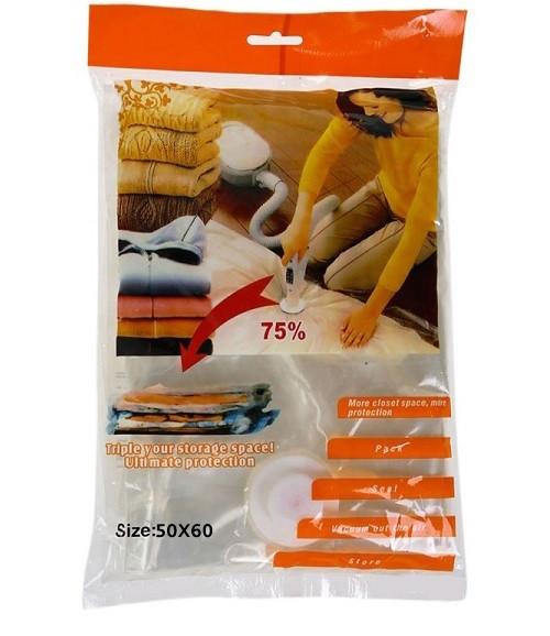 Вакуумные пакеты для хранения вещей Vacuum bags 50*60 см