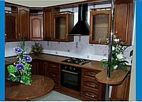 Кухня дерево. Кухня под заказ