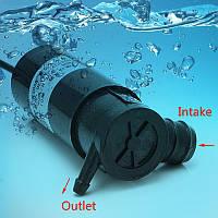 Насос садовый погружной водяной высокого давления подъема 9-10 метров 400-500 л\ч 19-36 Вт 12 в 0340