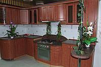 Кухня с каменной столешницей. Кухня под заказ