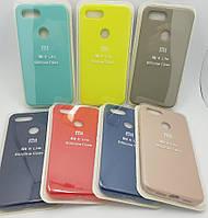 Чехол накладка Silicone case Xiaomi Mi 8 lite