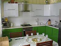 Кухня крашенный МДФ. Кухня под заказ.