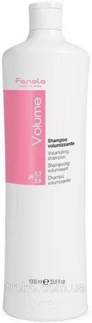 Шампунь для объёма тонких волос FANOLA Volume Volumizing Shampoo 1000 мл