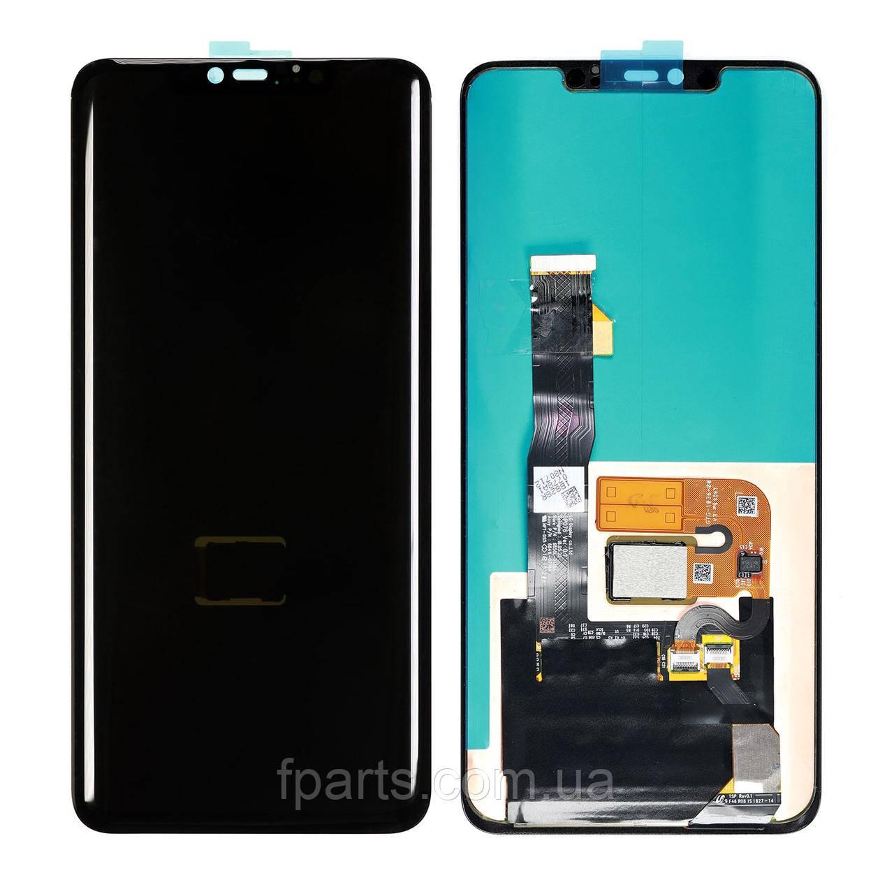 Дисплей Huawei Mate 20 Pro (ПОВНА-L09) з відбитком пальця (Black) Original