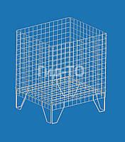 Накопитель сетчатый для распродажи с регулируемым дном (65х57х80)
