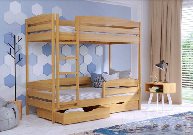 Кровать двухъярусная Дуэт Плюс 102 бук натуральный
