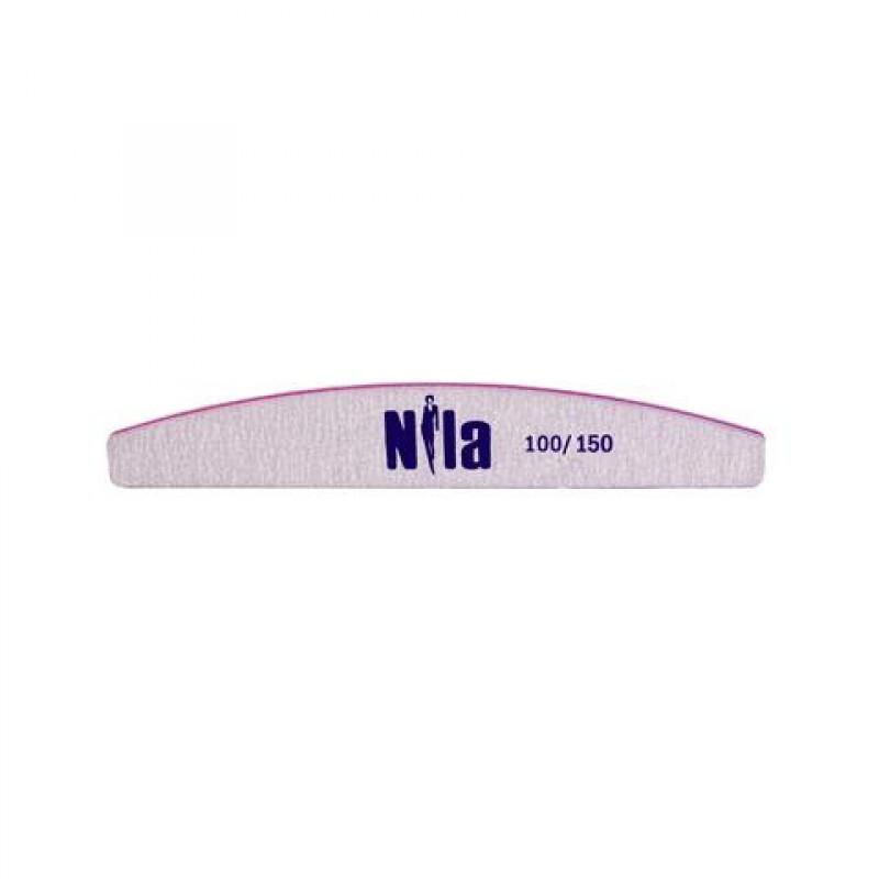 Nila Пилочка для ногтей серая Half 100/150
