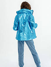 Детская куртка демисезонная для девочки двусторонняя | 128-164р., фото 3