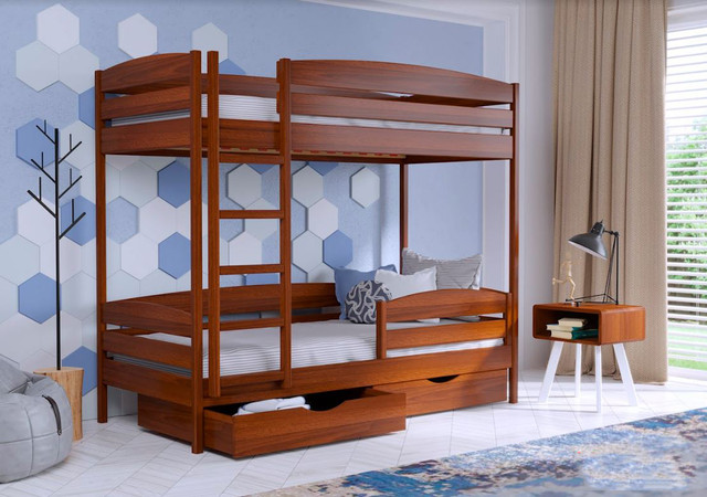 Кровать двухъярусная Дуэт Плюс 105 Ольха
