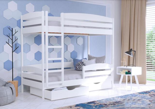 Кровать двухъярусная Дуэт Плюс 107 Белый