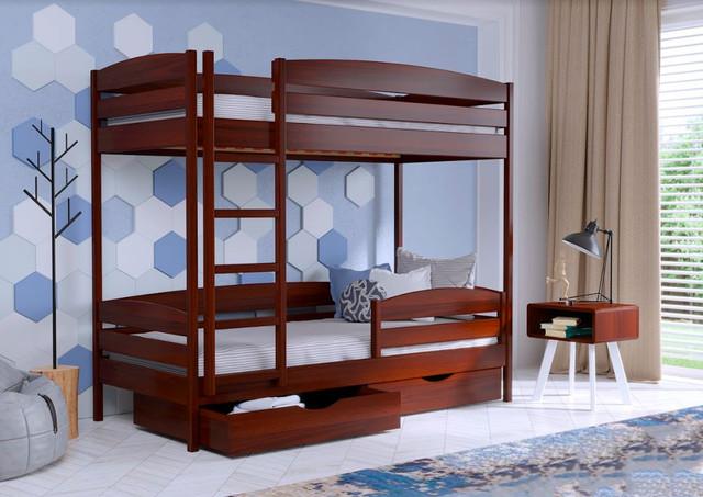 Кровать двухъярусная Дуэт Плюс 108 Каштан