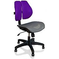 Кресло компьютерное школьнику Ergonomic Duo фиолетовое