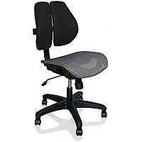 Кресло компьютерное детям Ergonomic Duo черное